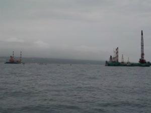 (4月28日)3フロートを二度越えても台船は遠かった